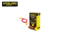 Tapon Protector de Oídos Autoexpandible desechable c/CORDÓN 200 Und.