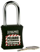Candado Steelpro X10 Negro