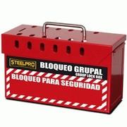 Caja de Bloqueo Grupal Roja