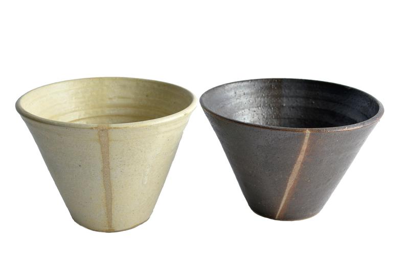 Set fuentes medianas cónicas bicolor