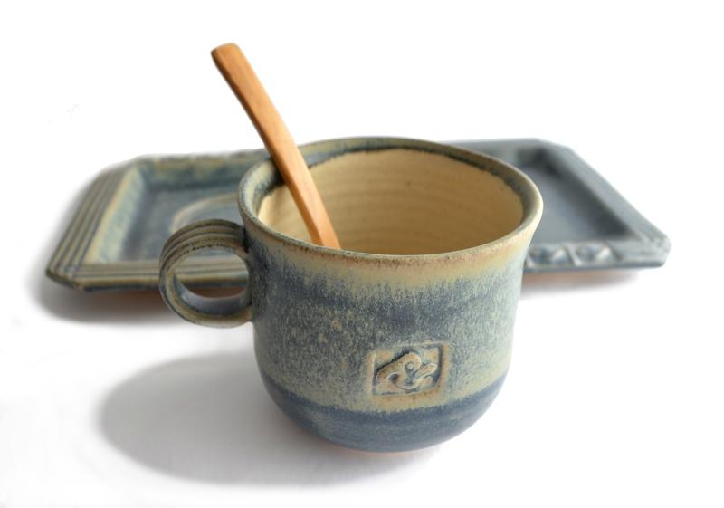 Set desayuno grande en cerámica gres