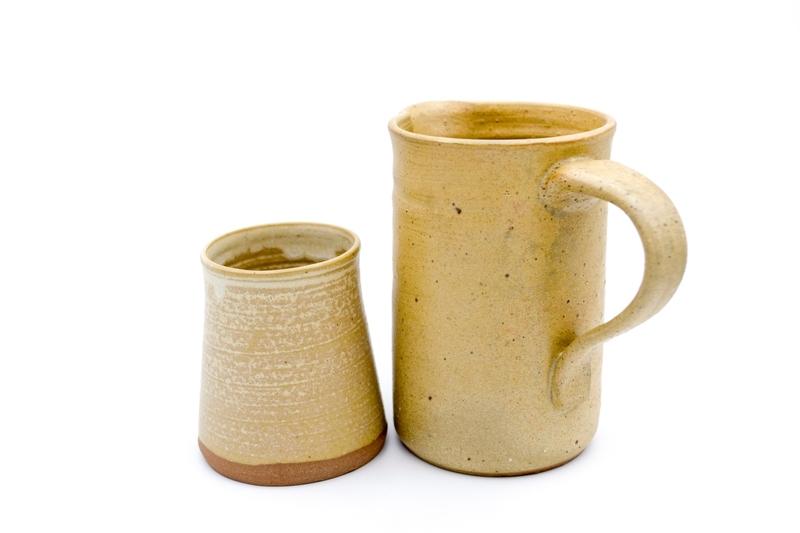 Set de jarra y vaso para el agua
