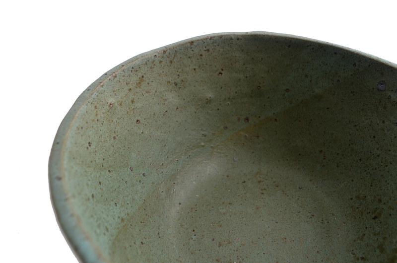Fuente cálida tonos turquesa
