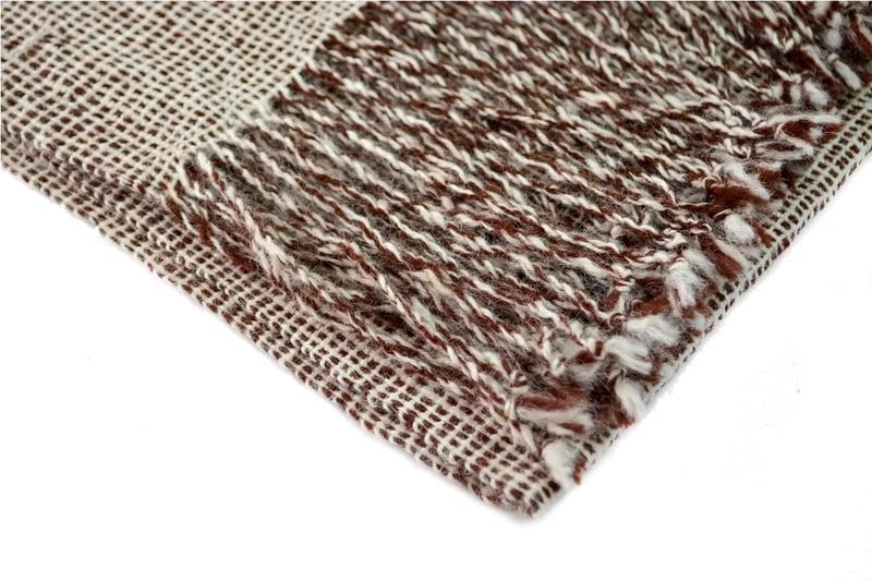 Bufanda mini cuadraditos en fibra de alpaca