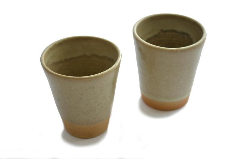 Set 2 tacitas de café cónicas