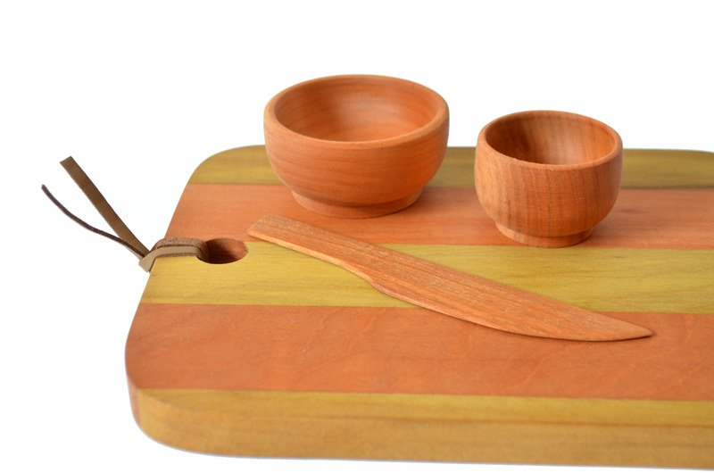 Tabla aperitivo en maderas nativas