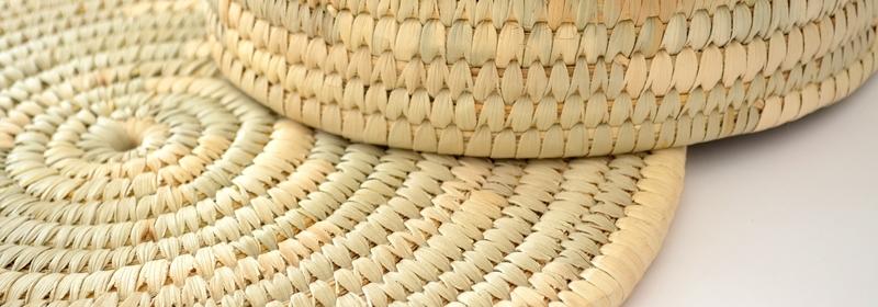 Finos trabajos en fibras vegetales