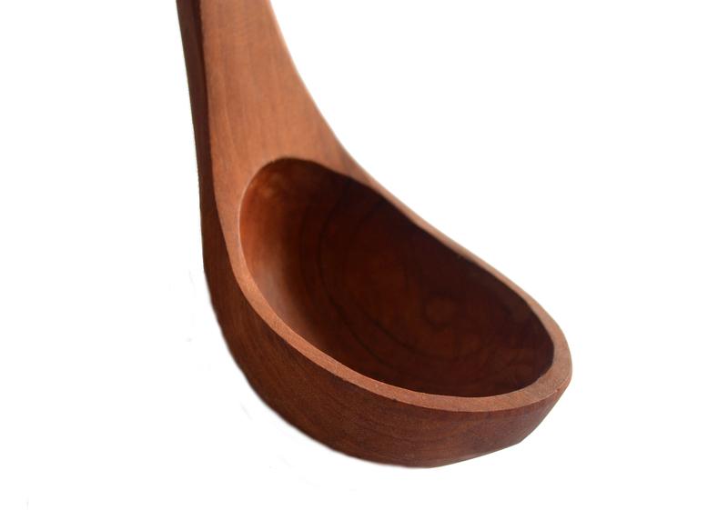 Gran cucharón en raulí nativo