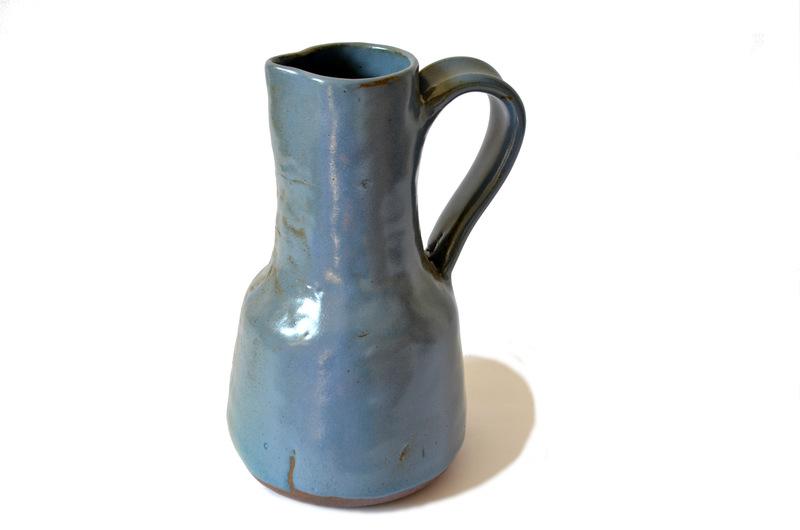 Jarra grande en cerámica esmalte jacinto