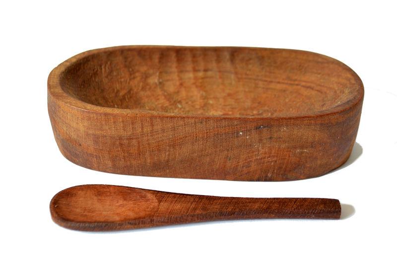Pocillo mediano tallado en raulí nativo
