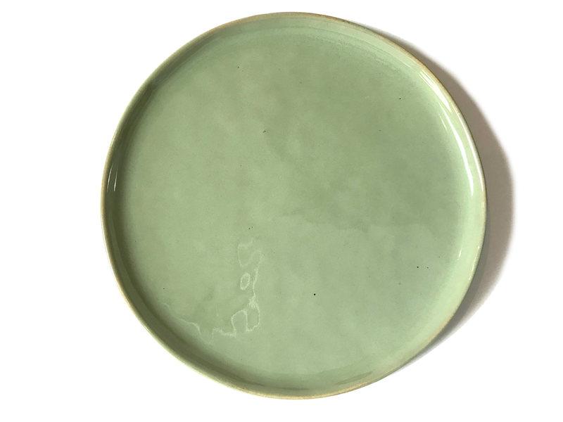 Set de aperitivo simple verde menta