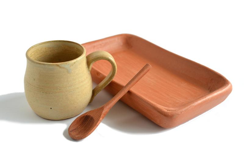 Set espresso gres y cerámica de Pañul