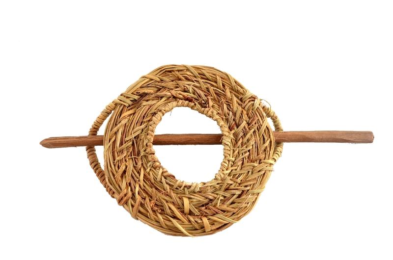 Traba o prendedor fibra vegetal - Disco grande