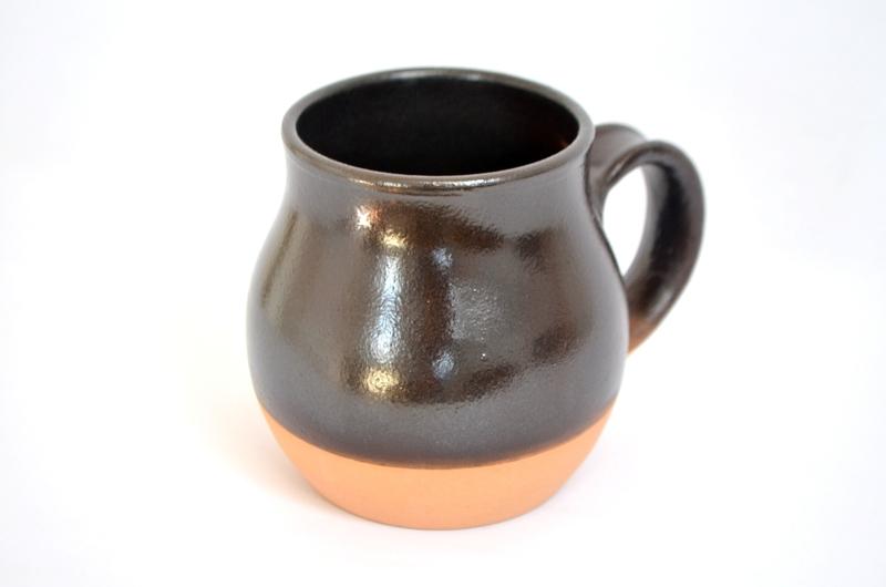 Tazón redondeado color negro cálido
