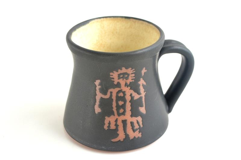 Tazón Colección Petroglifos - Chamán negro