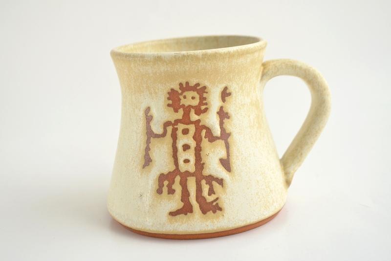 Tazón Colección Petroglifos - Chamán blanco