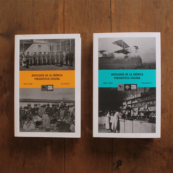 PACK ANTOLOGÍA DE LA CRÓNICA PERIODISTICA volumen 1 y 2