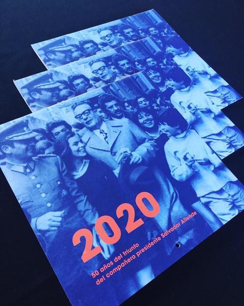 Calendario 2020 Salvador Allende