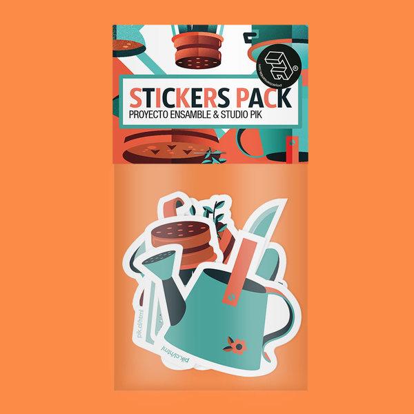 Stickers Pack Kitchen Stuff