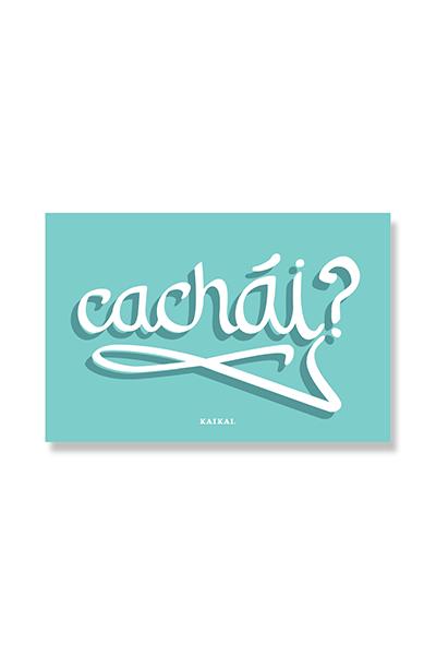 POSTAL CHILENISMOS - Cachái