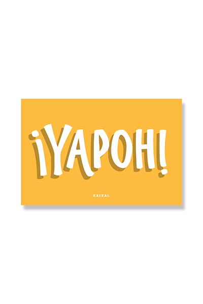 POSTAL CHILENISMOS - Yapoh