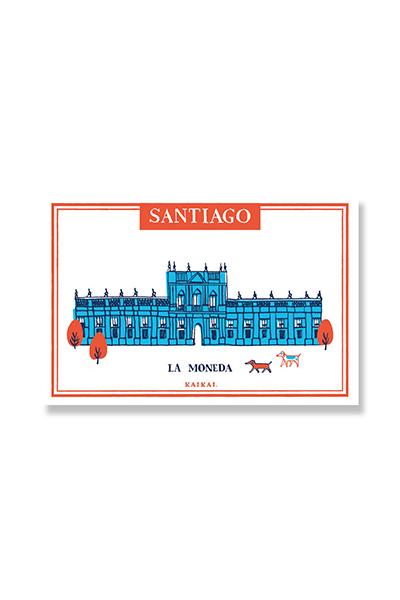 POSTALES SANTIAGO PATRIMONIAL - La Moneda