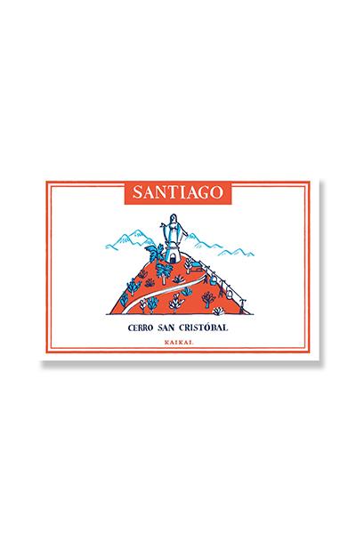 POSTALES SANTIAGO PATRIMONIAL - San Cristobal