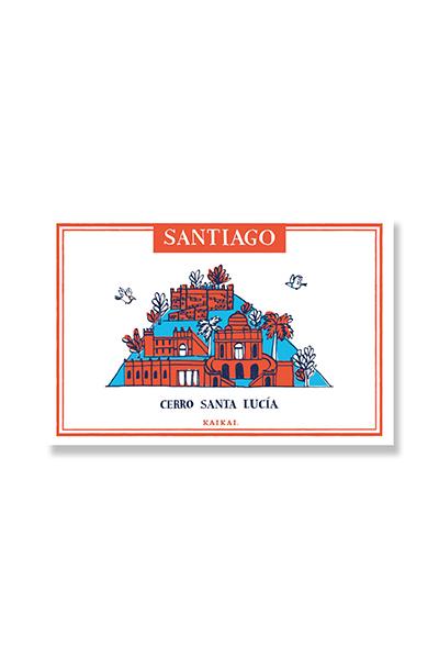 POSTALES SANTIAGO PATRIMONIAL - Santa Lucía