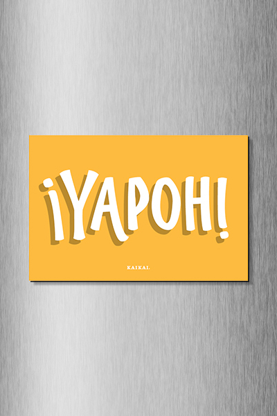 IMÁN CHILENISMOS - Yapoh