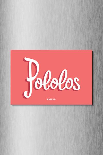 IMÁN CHILENISMOS - Pololos