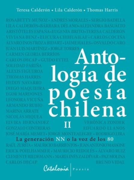 ANTOLOGIA DE POESIA CHILENA Vol. II