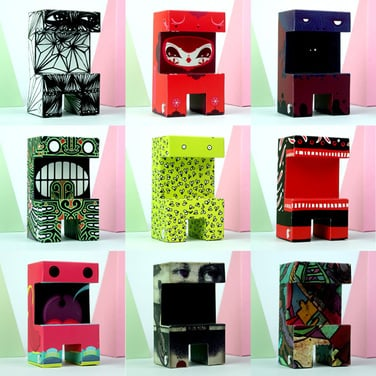 Paper toys serie 2: Nikodemus