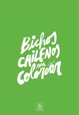 Bichos chilenos para colorear