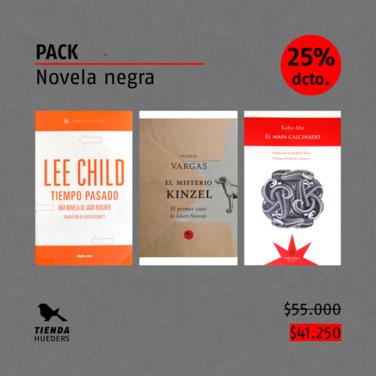 Pack: Novela negra