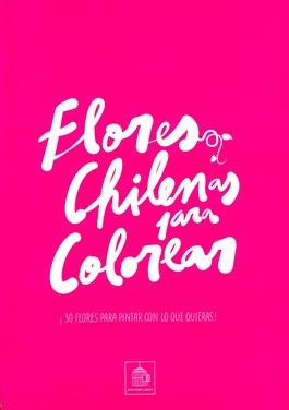 Flores Chilenas para Colorear
