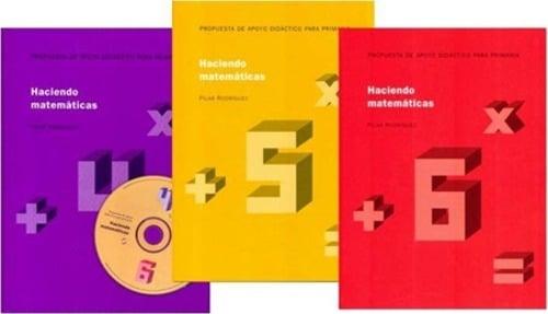 Haciendo Matemáticas 4,5,6 (3 volúmenes)
