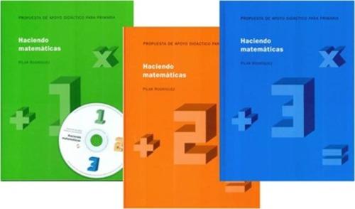 Haciendo Matemáticas 1,2,3 (3 volúmenes)