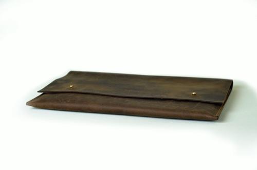 Porta Notebook de Cuero