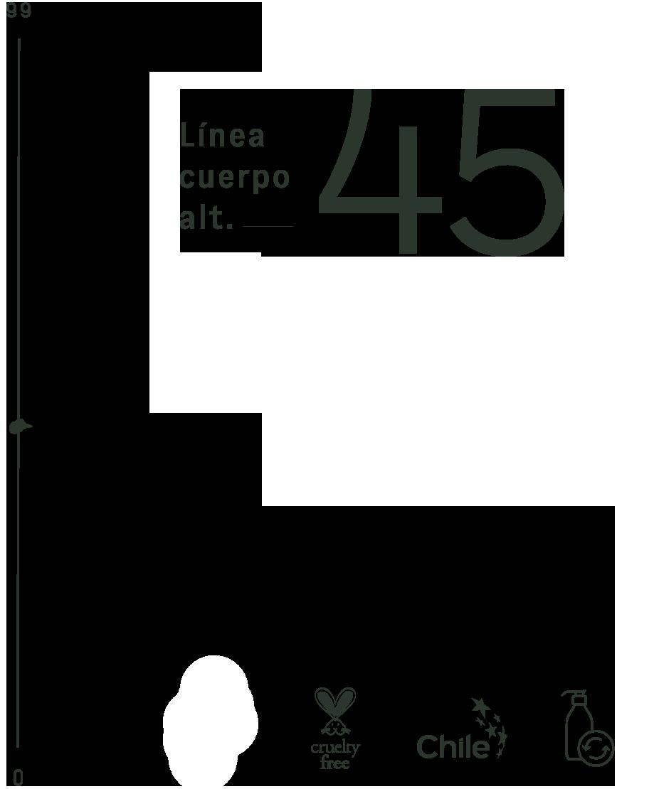 Cuerpo Alt. 45