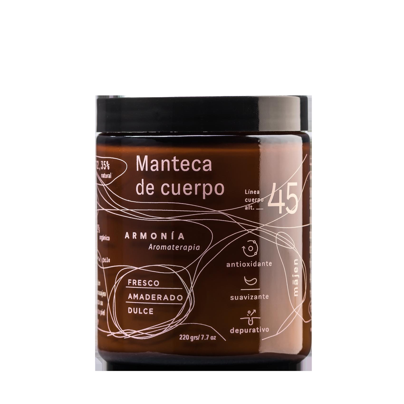 Manteca Cuerpo Armonía