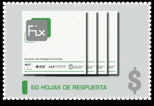 60 Hojas de Respuesta FIX + 60 correcciones automáticas