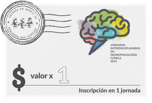 Inscripción en 1 Jornada Interdisciplinaria en Neuropsicología Clínica
