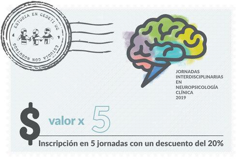Inscripción en 5 Jornadas Interdisciplinarias en Neuropsicología Clínica