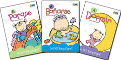 Pack  B 3 DVDs ( A Dormir , A Bañarse , El Parque )