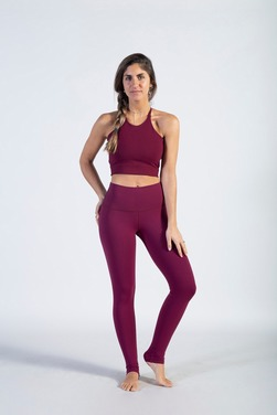 Leggins Regular Color Berry