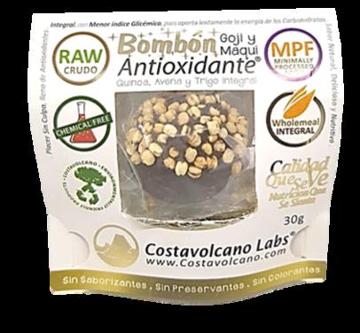 Bombón antioxidante con maqui