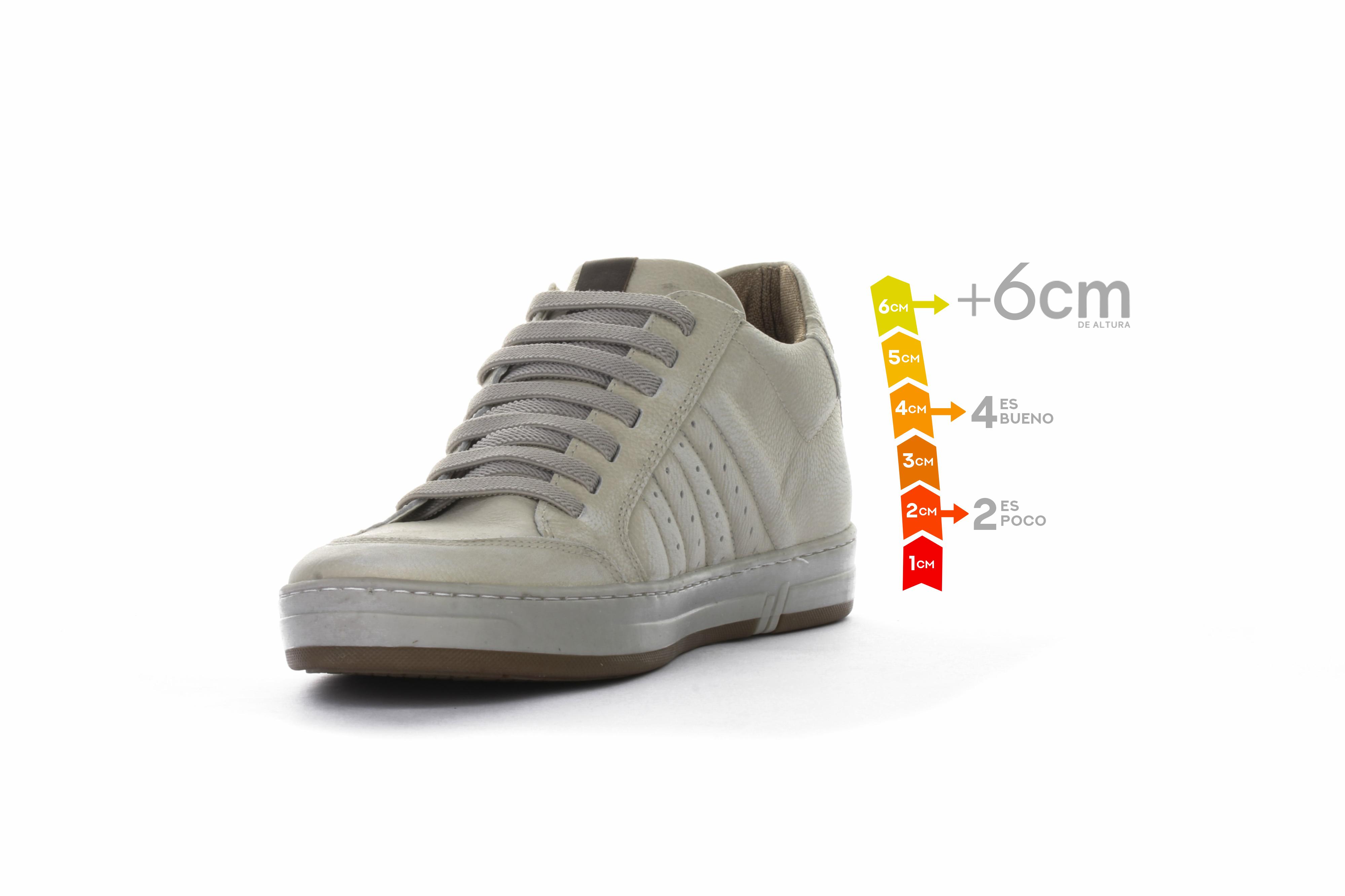 Derby Blanco +6cms