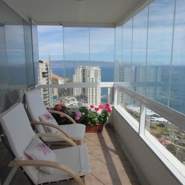 Cierre de terrazas con cortinas de cristal terrazachic for Cortinas de cristal para terrazas