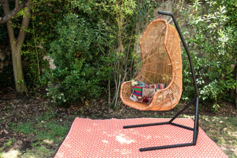 Soporte para silla columpio terrazachic for Silla columpio
