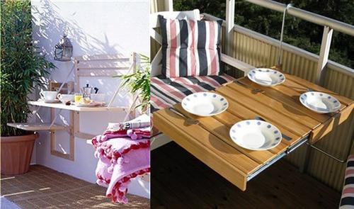 Inspiraci n mi balc n es chico y qu terrazachic for Mobiliario balcon